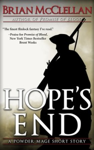 HOPES' END by BRIAN McCLELLAN