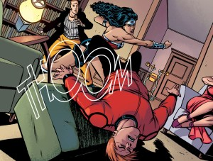 wonder woman punch orion