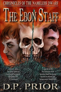 The ebon staff