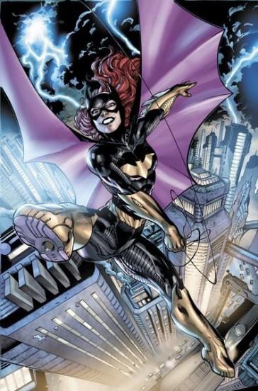 batgirl flying