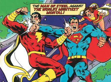 shazam - superman