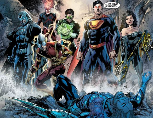Justice-League-23-Trinity-War-Finale-Forever-Evil-Earth-3-Crime-Syndicate-Debut