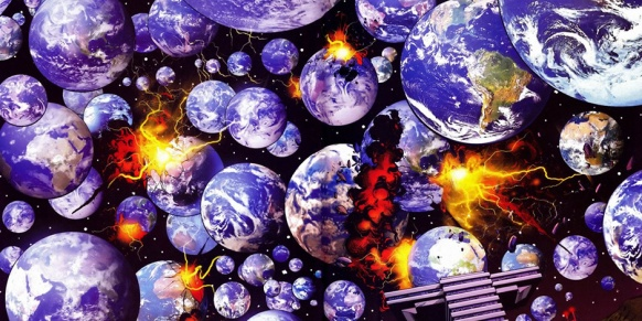 Multiversity-earths destroyed