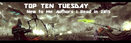 TOP TEN TUESDAYS new to me authors