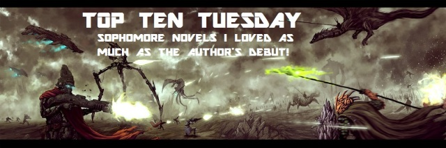 TOP TEN TUESDAYS SOPHOMORE NOVELS