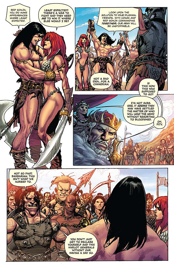 red sonja the blood of a god 1