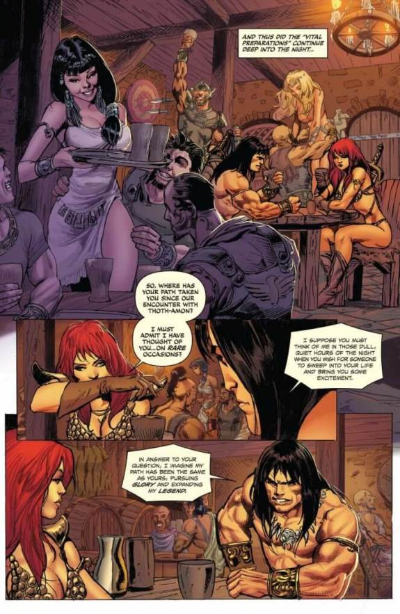 red sonja the blood of a god 2