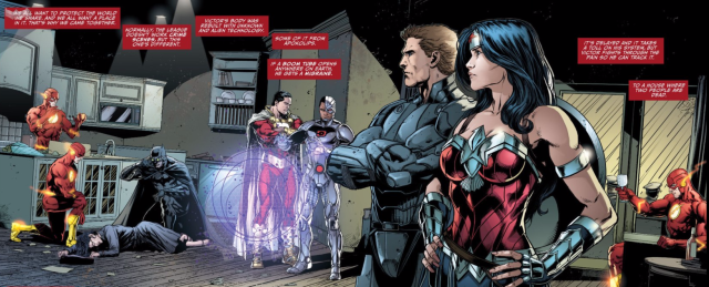 justice league darkseid wars 3