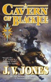 a cavern of black ice