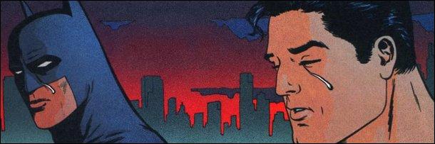 batman superman crying