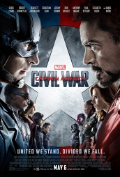 CAPTAIN AMERICA CIVIL WAR PSOTER