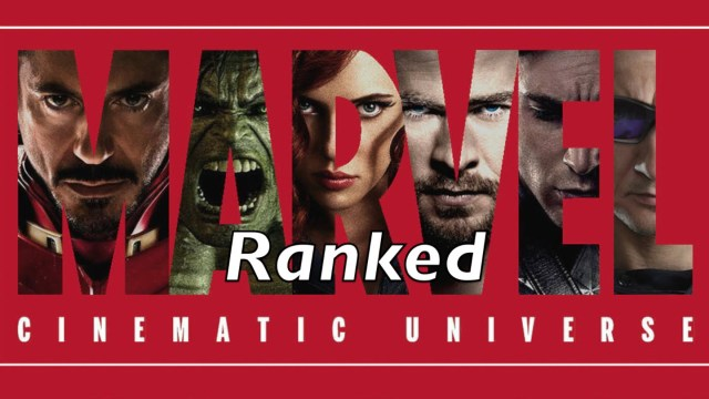 marvel cinematic universe ranked